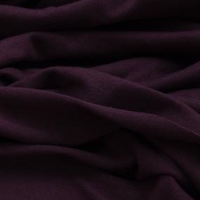 Ткань на отрез кулирка М-2063 цвет бордовый фото
