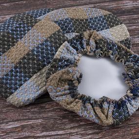 Чехол на табурет Кристи 100% ПАН №6 размер 35/35 см фото