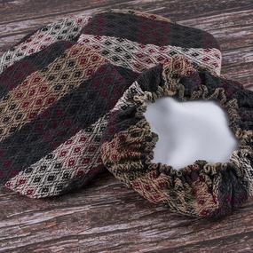 Чехол на табурет Кристи 100% ПАН №7 размер 35/35 см фото