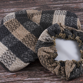 Чехол на табурет Кристи 100% ПАН №9 размер 35/35 см фото