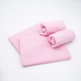 Набор детских пеленок фланель 4 шт 75/120 см Роза фото