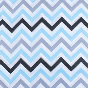 Набор детских пеленок поплин 4 шт 73/120 см 1797/2 цвет голубой фото