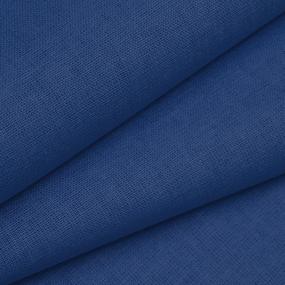 Ткань на отрез бязь ГОСТ Шуя 150 см 17900 цвет синий фото