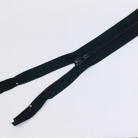 Молния обувная спираль №7 н/р 16см D580 черная фото