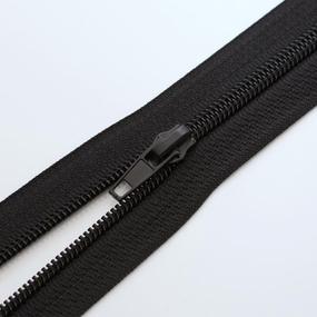 Молния спиральная разъёмная 50см; цвет: 580 - черный фото