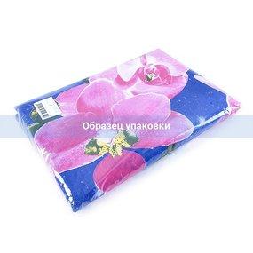 Постельное белье бязь эконом 308/1 Восток синий 1.5 сп фото