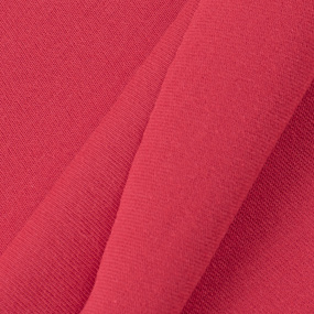 Ткань на отрез кулирка М-2035 цвет красный фото
