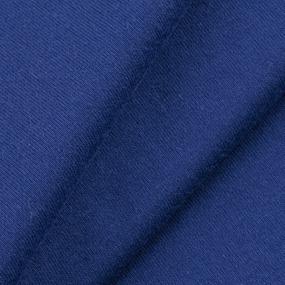 Ткань на отрез кулирка M-2087 цвет тёмно-синий фото