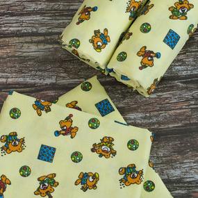 Набор детских пеленок фланель 4 шт 156-4П 75/120 фото