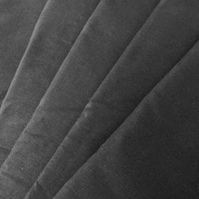 Весовой лоскут Поплин гл/кр черный от 1 до 1.5 м 2,400 кг фото
