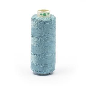 Нитки бытовые Dor Tak 40/2 366м 100% п/э, цв.365 голубой фото
