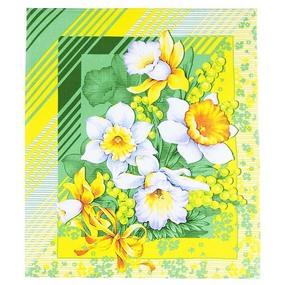 Полотенце вафельное 50/60 см 20021/1 Утренние цветы фото