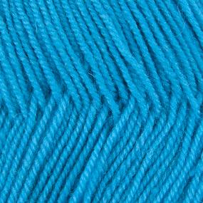 Пряжа для вязания ПЕХ Австралийский меринос 100гр/400м цвет 045 т/бирюза фото