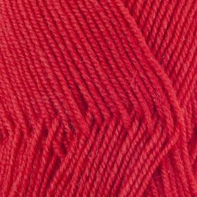 Пряжа для вязания ПЕХ Австралийский меринос 100гр/400м цвет 088 красный мак фото