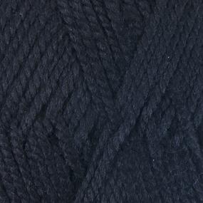 Пряжа для вязания ПЕХ Акрил 100гр/300м цвет 002 черный фото