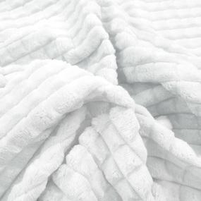 Маломеры Плюш Минки Квадрат Китай 180 см цвет белый 0.7 м фото