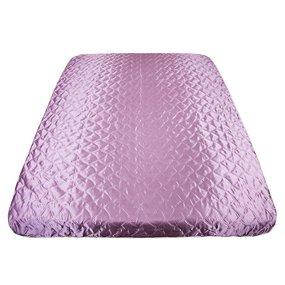 Покрывало шелк цвет темно-розовый 180/210 фото