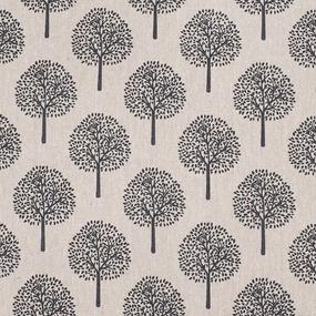 Маломеры лен TBY-DJ-20 Деревья цвет бежевый 0,9 м фото