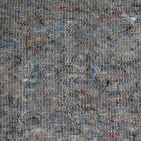 Ткань на отрез полотно холстопрошивное частопрошивное темное 80 см фото