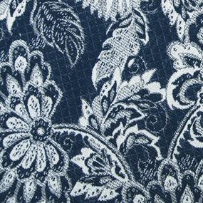 Гобелен Жаккард Романтика 200 см 1706 02 G-900 0576 цвет синий фото