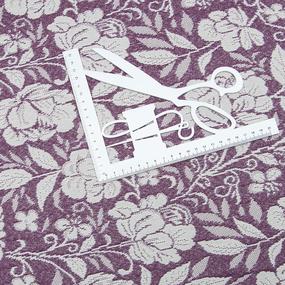 Гобелен Жаккард розы 230 см 1706-02 G-900 цвет сиреневый фото