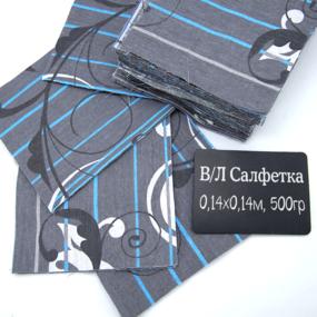 Весовой лоскут Салфетка бязь о/м 0,14 / 0,14 м по 0,500 кг фото