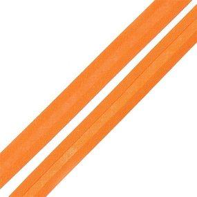 Косая бейка хлопок ширина 15 мм (132 м) цвет 7023 оранжевый фото