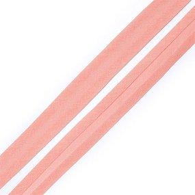 Косая бейка хлопок ширина 15 мм (132 м) цвет 7041 розово-персиковый фото