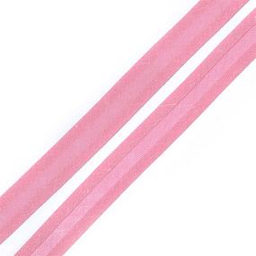 Косая бейка хлопок ширина 15 мм (132 м) цвет 7046 розовато-лиловый фото