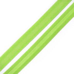 Косая бейка хлопок ширина 15 мм (132 м) цвет 7051 желто-зеленый фото