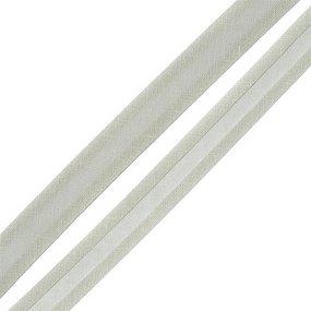 Косая бейка хлопок ширина 15 мм (132 м) цвет 7093 св-серый фото