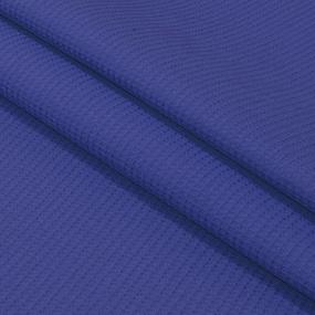 Вафельное полотно гладкокрашенное 150 см 165 гр/м2 цвет темно-синий фото