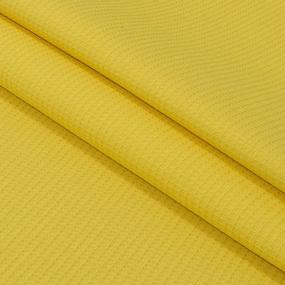 Вафельное полотно гладкокрашенное 150 см 165 гр/м2 цвет лимон фото