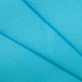 Вафельное полотно гладкокрашенное 150 см 165 гр/м2 цвет небесный фото