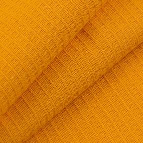 Вафельное полотно гладкокрашенное 150 см 165 гр/м2 цвет апельсин фото