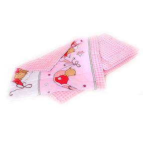Набор в коляску 3 предмета 7 Мишки в гамаке цвет розовый фото