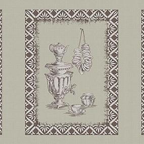 Рогожка 150 см набивная арт 902 Тейково рис 30212 вид 1 Кухонный лен фото