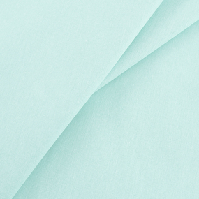 Бязь гладкокрашеная 120гр/м2 220 см на отрез цвет аквамарин фото