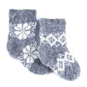 Детские носки тёплые шерстяные 110 14 см фото