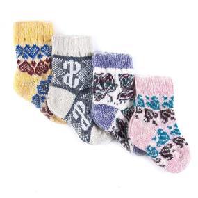 Детские носки теплые шерстяные 111 17 см фото