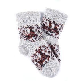 Детские носки теплые шерстяные 112 16 см фото