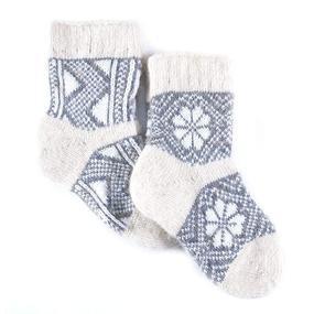 Детские носки тёплые шерстяные 113 19 см фото