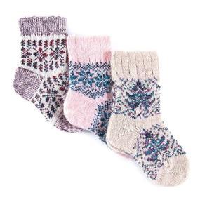 Детские носки тёплые шерстяные 114 20 см фото