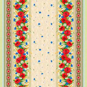 Рогожка 150 см набивная арт 902 Тейково рис 18752 вид 1 фото