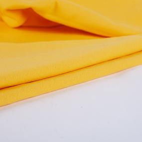 Ткань на отрез рибана с лайкрой М-2029 цвет желтый фото