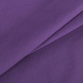 Поплин гладкокрашеный 220 см 115 гр/м2 70036/1 цвет сливовый Актив фото
