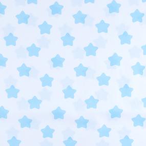 Маломеры бязь плательная 150 см 1737-А/7 Прянички цвет бирюза 0.9 м фото