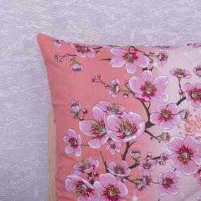 Наволочка Бязь 332/1 Китайская сакура цвет персик в упаковке 2 шт 50/70 см фото