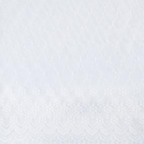 Органза 8782 цвет 2685 белый фото