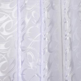 Маломеры Портьерная ткань 150 см 27 цвет белый 1,5 м фото